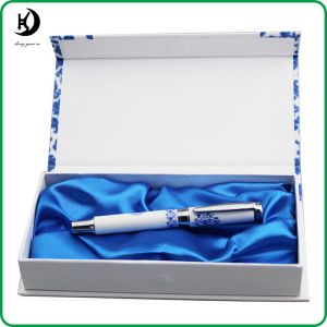 Business Gift Personalize Exclusive Branded Logo Ceramic Gift Pen Set (ceramic02)
