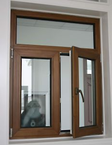 Standard Aluminum Cladding Wood Casement Window pictures & photos