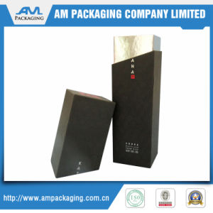 Hight Quality Texture Gift Paper Wrapper Wine Box with Magnetic Closure or for Jewelry Packaging pictures & photos