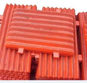 Sanbao Brand High Manganese Steel Jaw Plate
