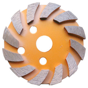 Concrete Floor Diamond Grinding Discs 4 Inch Metal Grinding Disk pictures & photos