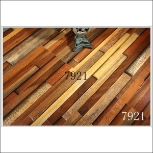 Hot Sales Yellow Color Strips 12.3mm Laminate Flooring pictures & photos
