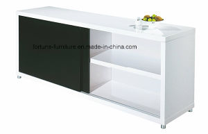 Modern Wooden UV High Gloss Slide Door Buffet (Buff1-1 01)