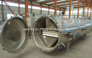 Automatic Horizontal Autoclave Sterilizer for Food Industry pictures & photos