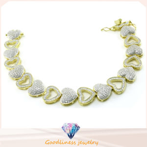 Women Heart Style Bangles Fashion Jewelry for Lady 925 Silver Jewelry Bracelets Bt6602 pictures & photos