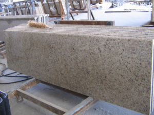 Giallo Ornamental Granite Countertop for Home Decoration (CT070) pictures & photos