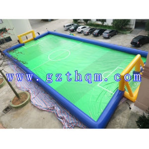 Inflatable Football Pool/Inflatable Soccer Field pictures & photos