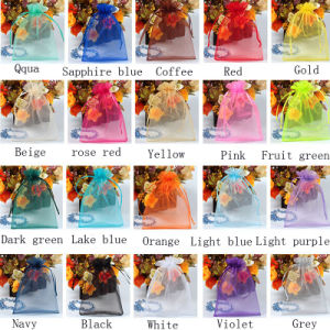 Multicolor Organza Promotion Gift Bag pictures & photos