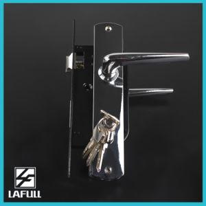 03510 High Standard Euro Type Security Door Handle Lock pictures & photos