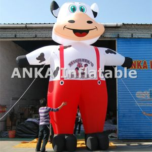 Custom Promotion Inflatable Gorilla with Car Character Cartoon pictures & photos
