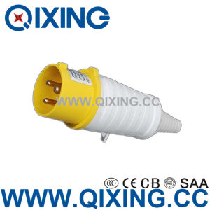 Commando 32A 3p Yellow 110V Industrial Plug/ PVC Tail Type pictures & photos