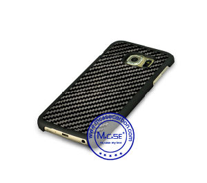 New Promotional Gift 100% Real Carbon Fiber Rubberized PC Plastic Case for Samsung S6 Edge pictures & photos