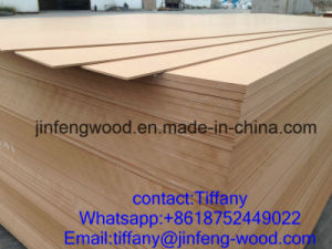 Jf-Wood Brand 830kg/M3 Plain MDF pictures & photos