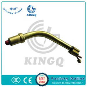 Kingq Binzel 501d MIG Welding Gun with Contact Tip, Nozzle pictures & photos