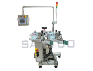Nonstop Dual-Head Stand Alone Labeler pictures & photos