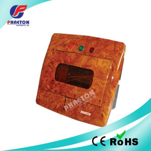 8 Way MCB Electrical Power Distribution Box Wooden Color pictures & photos