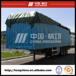High Quality Container Trailer Hzz9390xxy pictures & photos