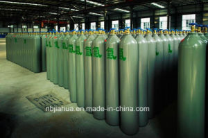 Industrial Oxygen Gas Cylinder GB5099/ISO9809 46.7L 150bar/250bar pictures & photos
