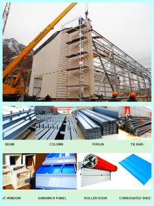 Steel Frame Structure with Installation for You pictures & photos