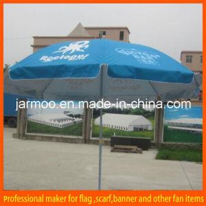 Outdoor Sun-Proof Canvas Beach Umbrella pictures & photos