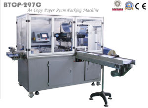 Btcp-297c Flat Cover Type A4 Copy Paper Packing Machine pictures & photos