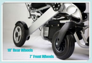 Tiny 6 Foldable Electric Wheelchair pictures & photos