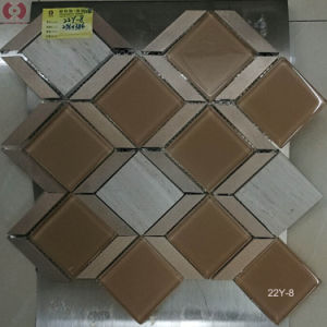 296*386mm Crystal Glass Mosaic Wall Tile for Home Decor (22Y-8) pictures & photos