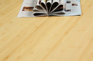 Natural Brushed Engineered Bamboo Flooring HDF Core pictures & photos