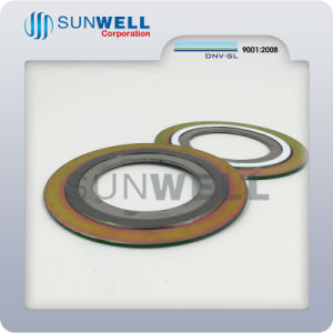 Graphite Spiral Wound Gasket with Outer and Inner Ring pictures & photos