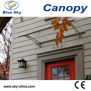 Good Waterproof Polycarbonate Aluminum Door Canopy (B900) pictures & photos
