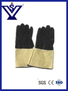 Safety Gloves, Working, PVC Cotton, Nylon Gloves pictures & photos