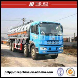 Safe Delivery in Liquid Tanker Material Semi-Trailer, Chemical Tank Truck pictures & photos