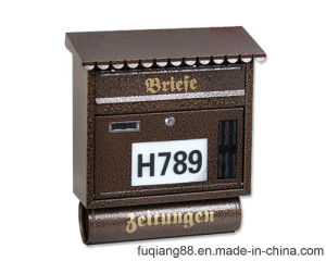 Fq-130 Hot Sale LED Lighted House Number Postbox pictures & photos