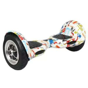 10 Inch Fire Red Smart Electric Self Balance Skateboard Scooter pictures & photos