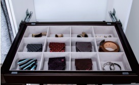 Closet China Velvet Jewelry Drawers Box pictures & photos