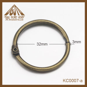 Fashion Nice Quality 32mm Metal Book Binder Rings Bulk Sale pictures & photos