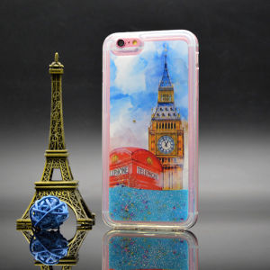 Hot Sale Tower Quick-Sand Cell Phone Case for iPhone 6/ 6s pictures & photos