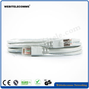 FTP CAT6A Patch Cord PVC with Stranded Pure Copper Conductor pictures & photos