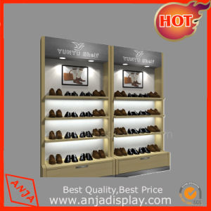 Wooden Shoes Display Shelf for Trade Show pictures & photos