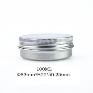 Round Metal Aluminium Cream Tin Box 100ml pictures & photos