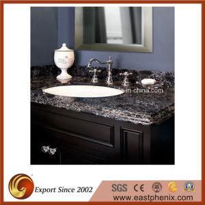 Modern Design Black Quartz Stone Vanity Top pictures & photos