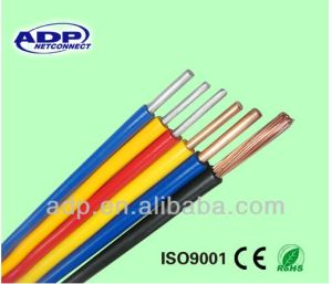 450/750V-H07V-U Flexible Electric Wire Copper/CCA/CCS 1.5mm 2.5mm 4mm 10mm Make in China Professional Factory pictures & photos