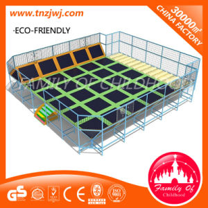 Trampoline Game Indoor Park Equipment with Soft Play for Sale pictures & photos