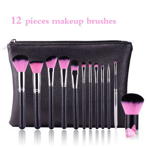 New Arrival 12 Pieces High Quality Makeup Brush Set pictures & photos
