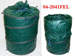 High Quality PE Woven Pop up Garden Leaves Bag pictures & photos