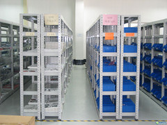 Steel Rolled Iron Materials Shelf Metal Longspan Racking pictures & photos