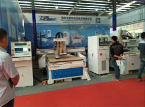 CNC Auto Change Spindle Wood Engraving Router (FCT-1325W-AT3) pictures & photos