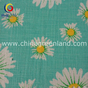 45%Cotton 55%Linen Fabric for Printed Textile Dress Garment (GLLML138) pictures & photos