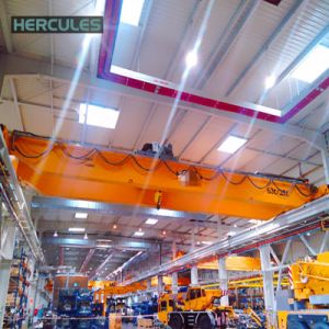 Factory Electric Double Girder Overhead Crane Price pictures & photos