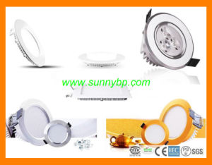 6W 12W 18W Ultra Slim Round Square LED Downlight pictures & photos
